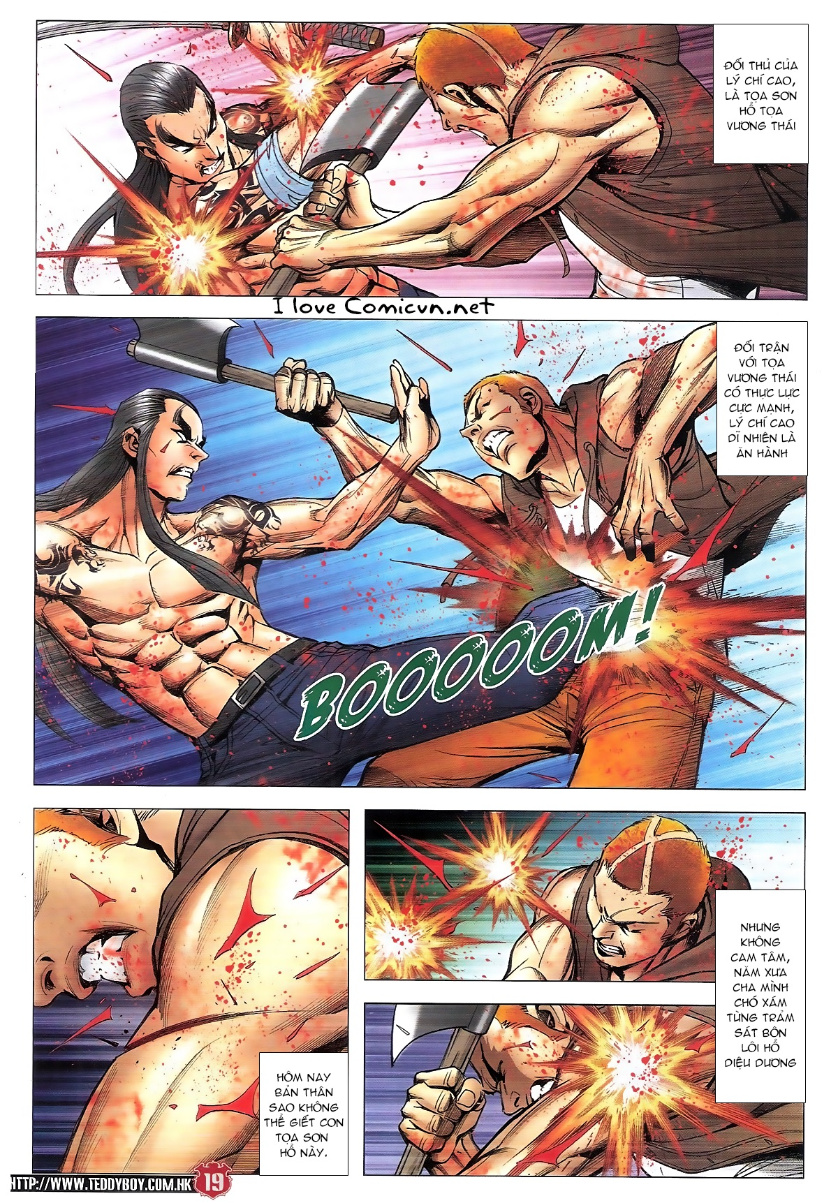 Người Trong Giang Hồ chapter 1840: đại phi ác chiến kim tôn quý trang 17