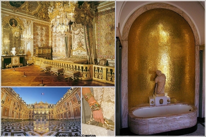 palace gold palette as main decorative element