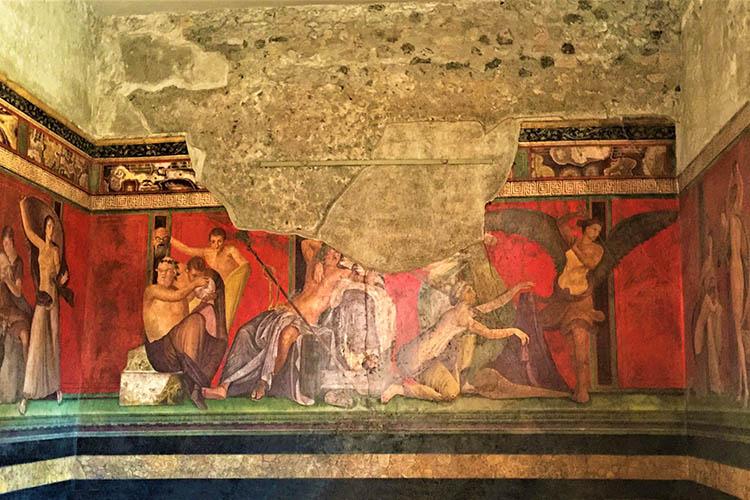 Luisa Bernasconi a Pompei