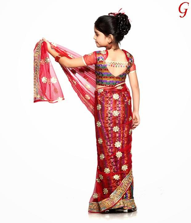 Design 2 Fashion: Kids Saree Collection Pictures | Fashion ...