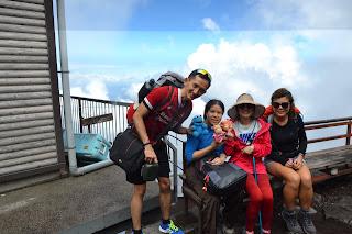 Yuantai on Mt Fuji
