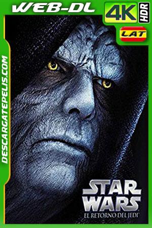 Star Wars: episodio VI el retorno del Jedi (1983) 4k HDR WEB-DL Latino – Ingles