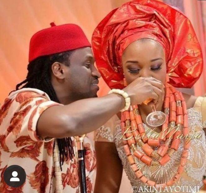 Paul Okoye and wife sepatates