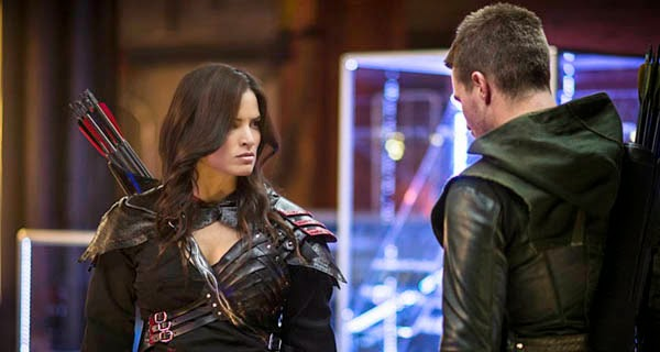 Nyssa Al Ghul en Arrow 3x04