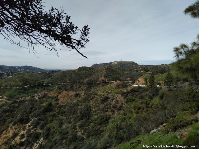 Hollywood Sign via Charlie Turner Trail