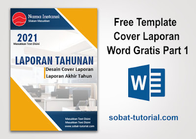 Free Template Cover Laporan Word Gratis
