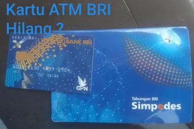 ATM Hilang ? Begini Cara Mengurus Surat Kehilangan ATM BRI