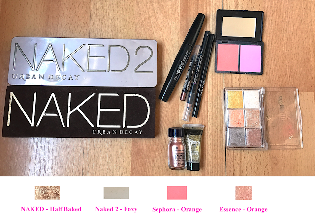 tuto make-up naked