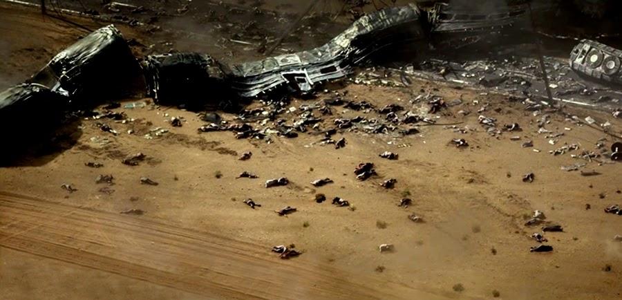 Dezastrul lăsat de Godzilla
