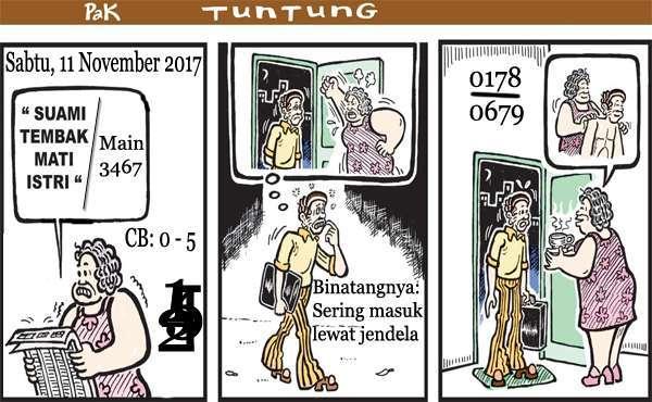 Prediksi Gambar Pak Tuntung Sabtu 11 11 2017