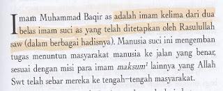 Aqidah Syiah: Para Imam Adalah Manusia Suci dan Maksum