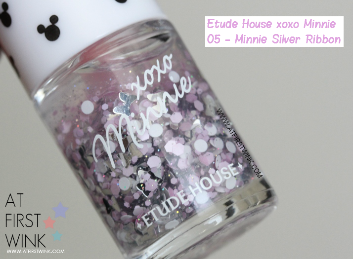 Etude House xoxo Minnie nail polish 05 review
