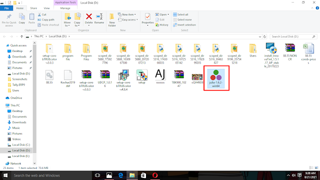 Julia download and installation tutorial for Windows 10