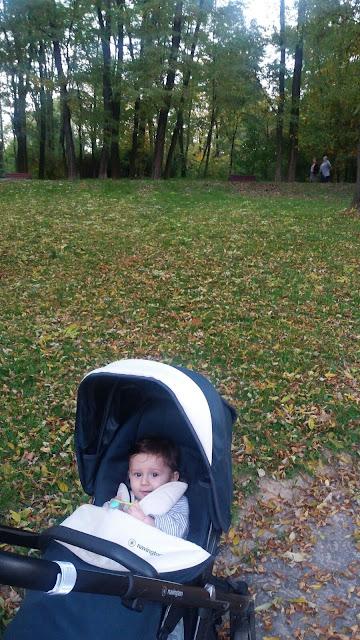 wyjście na spacer z dzieckiem