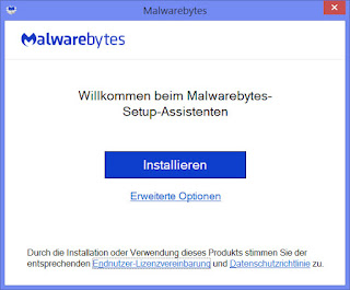 Installationsanleitung Malwarebytes 1
