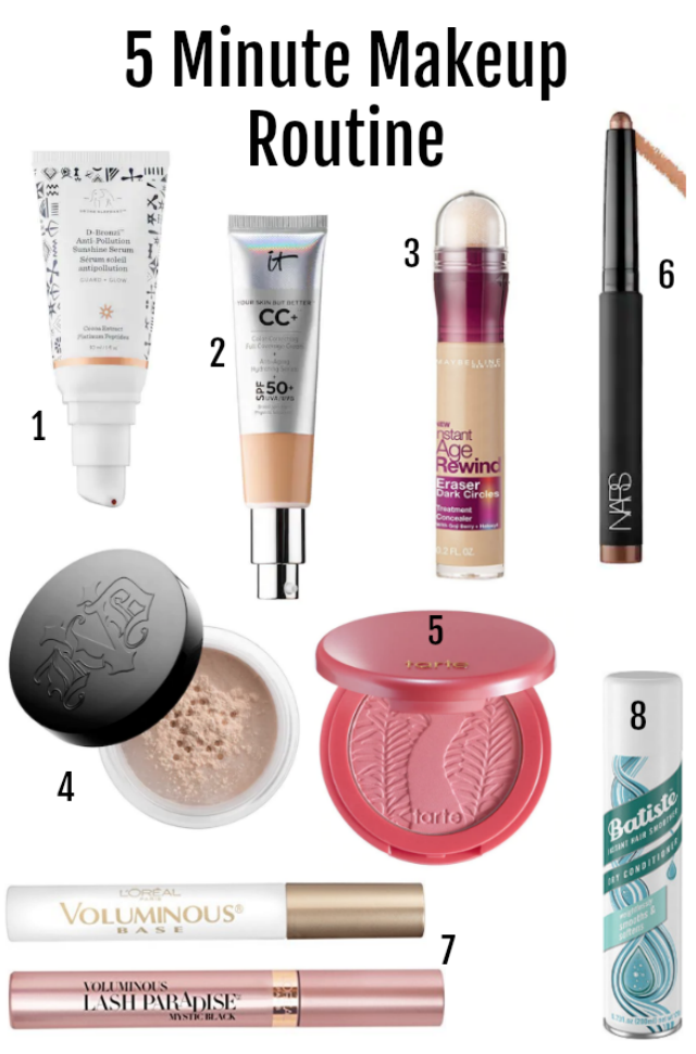 new mom makeup routine
