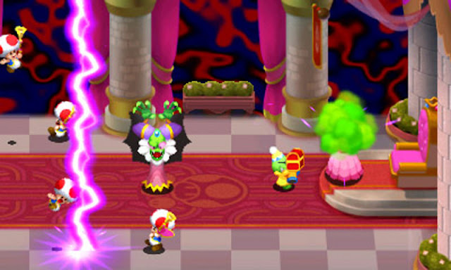 Mario RPG on Nintendo 3DS