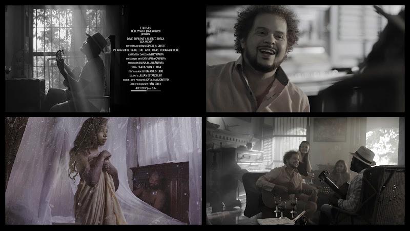 David Torrens & Alberto Tosca - ¨Esa Negra¨ - Videoclip - Director: Ángel Alderete. Portal Del Vídeo Clip Cubano. Música cubana. CUBA.