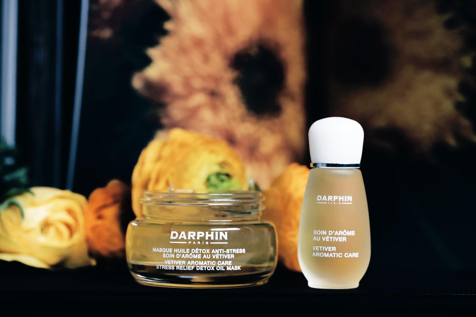 darphin masque huile detox anti stres soin d'arome au vetiver avis test