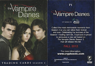 Vampire Dairies Season 2 promo card