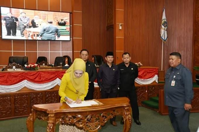 Paripurna DPRD Kota Depok Setujui Lima Raperda