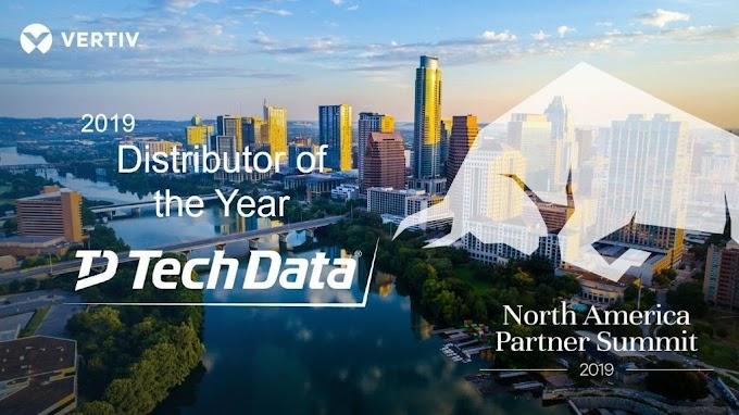Vertiv nombra a Tech Data como distribuidor autorizado de soluciones convergentes en Latinoamérica