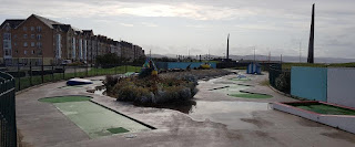 Drift Park Crazy Golf course in Rhyl