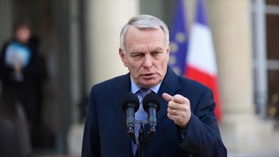 El canciller francés, Jean-Marc Ayrault.