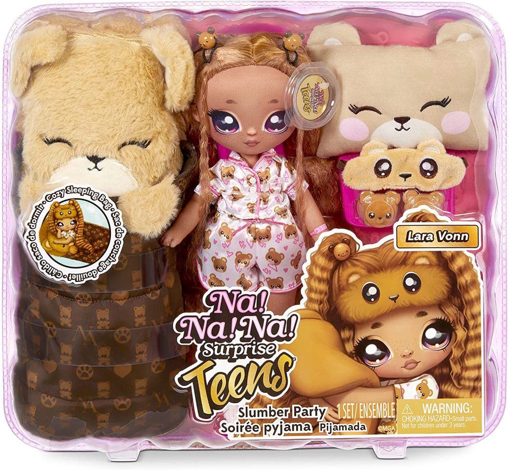 Мягкая кукла Lara Vonn На На На Сюрприз Пижамная вечеринка
