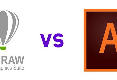 Corel Draw vs Adobe Illustrator? Mana yang lebih bagus?