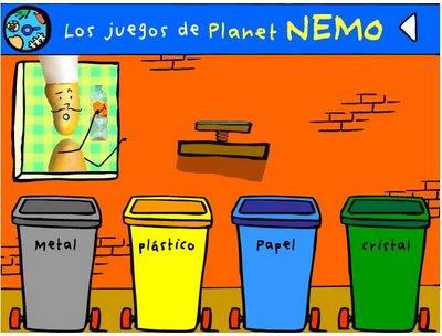 Juegos para reciclar jugando y reciclando el mundo voy - Colores para reciclar ...
