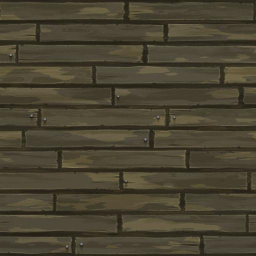 Cartoon Wooden Planks 3