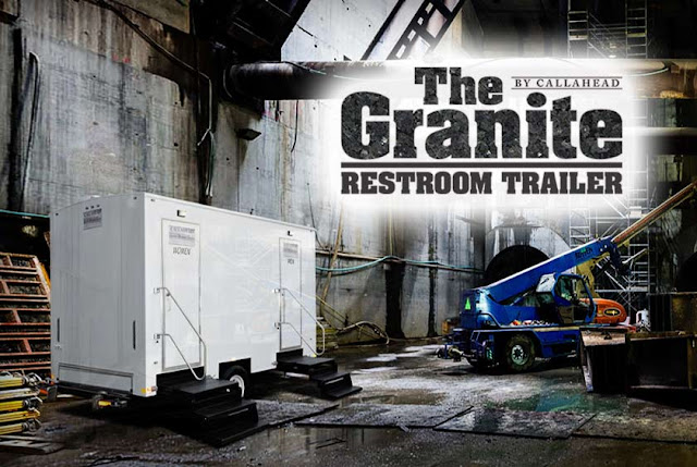 Restroom Trailer | The Granite Bathroom Trailer in New York