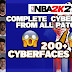 NBA 2K21 ALL UPDATED CYBERFACES/FACE SCANS 200+  MEGA PACK FROM ALL OFFICIAL PATCHES