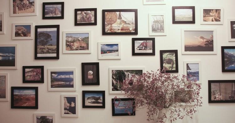dekorationen und geschenke fotowand gestalten unsere dekoideen mit bilderrahmen. Black Bedroom Furniture Sets. Home Design Ideas