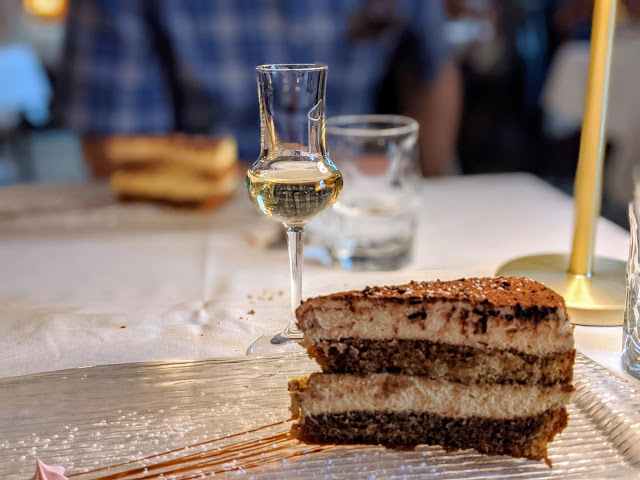 Where to eat in Kilkenny: Tiramisu and grappa at Cafe Rinuccini