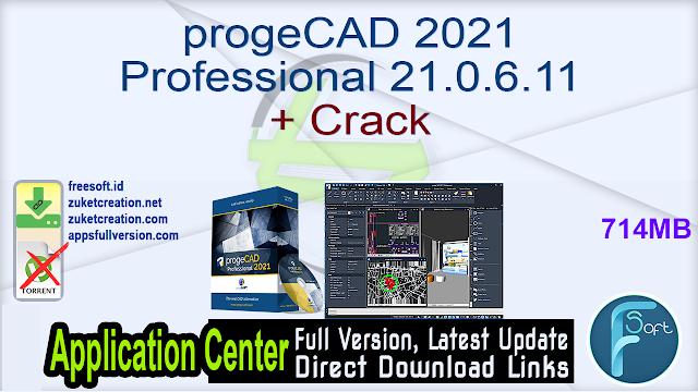 progeCAD 2021 Professional 21.0.6.11 + Crack