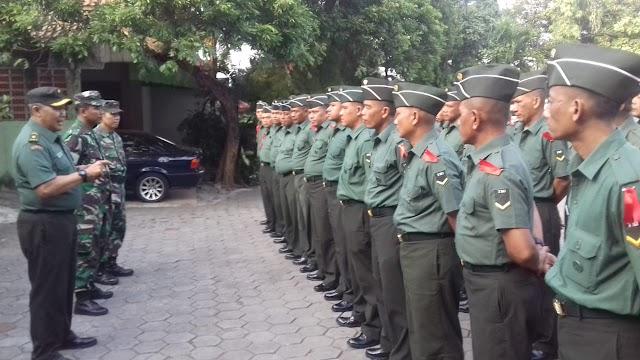 41 Siswa Diktubasus Babinsa Praktek Talak Binter di Koramil 05/Kramat Jati