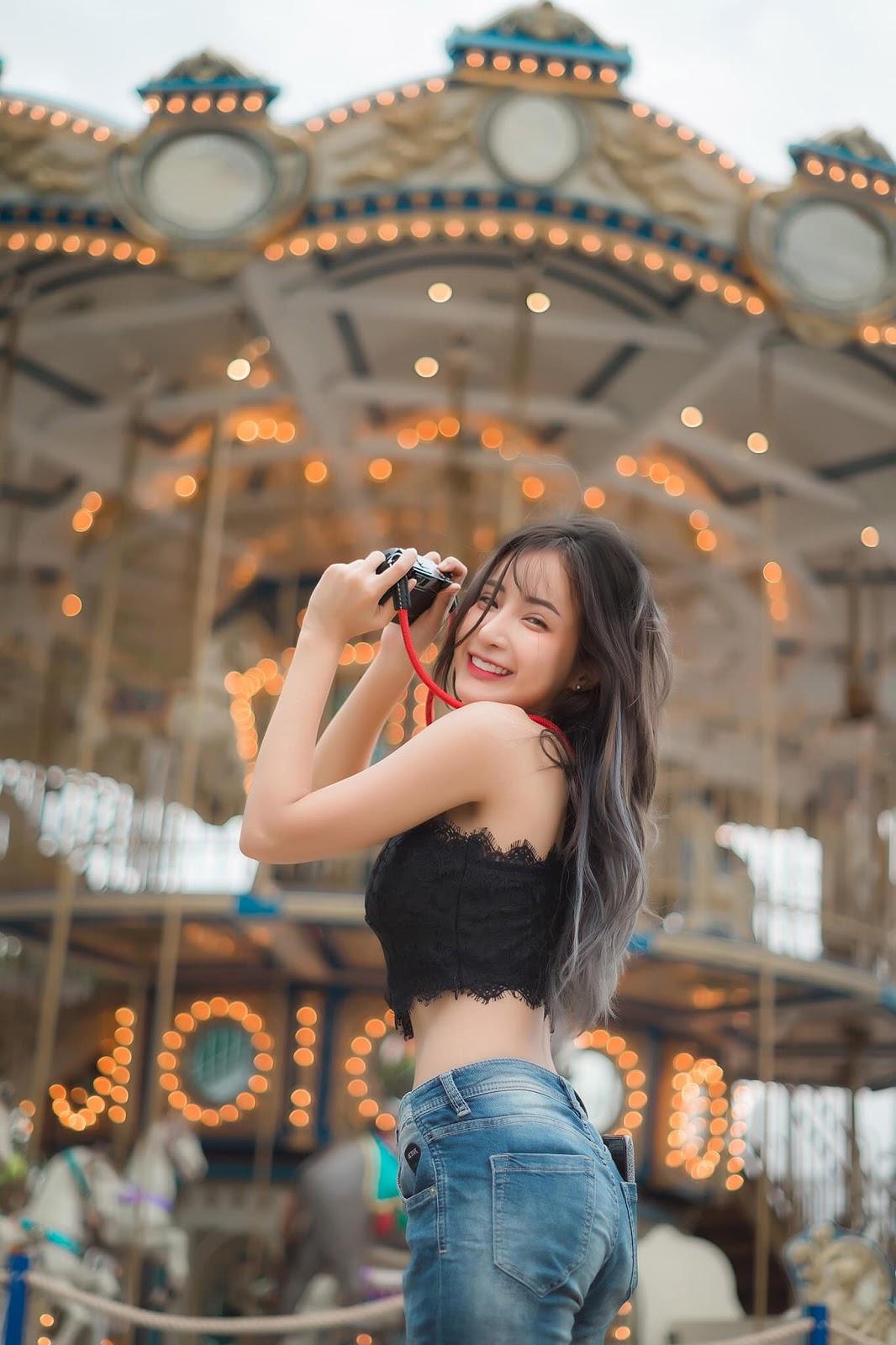 Thailand Hot Girl - Thanyarat Charoenpornkittada - My Memory Childhood Park - TruePic.net - Picture 3