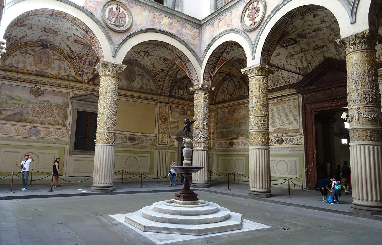 Voyage italie toscane Florence palazzo vecchio