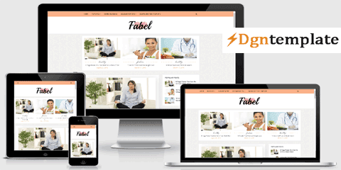 Fabel Responsive Blogger Template | high quality themes