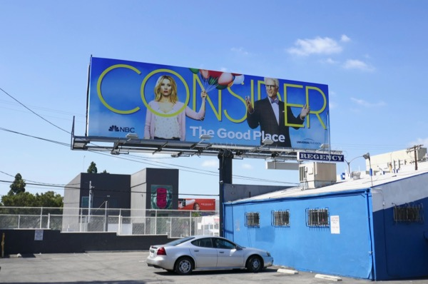 Good Place season 2 Emmy FYC billboard