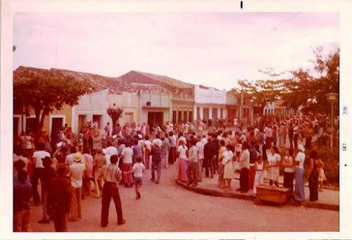 Foto da década de 80 cedida por Blésman Modesto