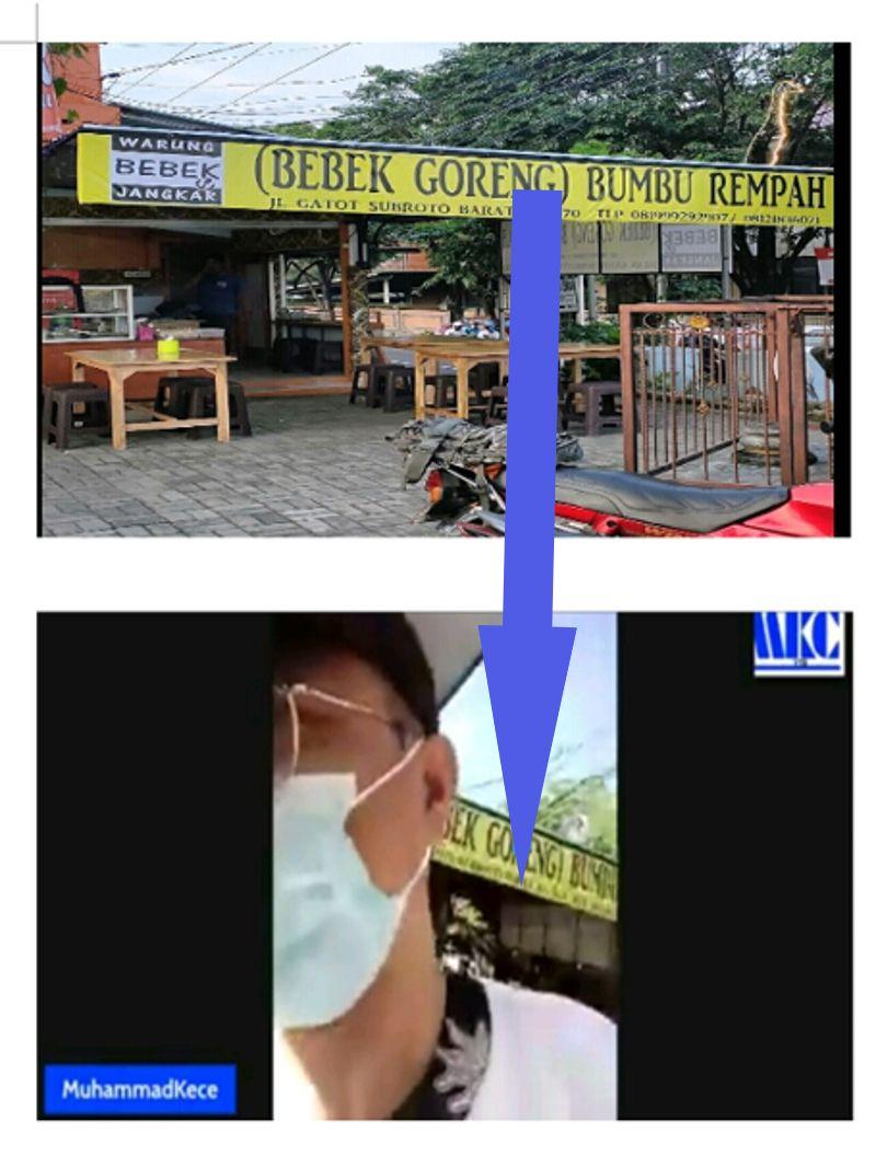 Terungkap! Muhammad Kece Berada di Lokasi Ini Saat Siarkan Langsung Video Kontroversinya