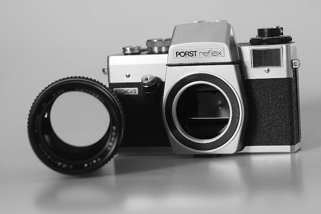 Aparat Porst Reflex CX4 + Porst 135mm F/2.8