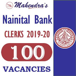 Nainital Bank Clerks Recruitment 2019- 20