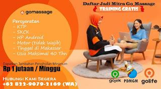 Lowongan Kerja Mitra Go-Massage