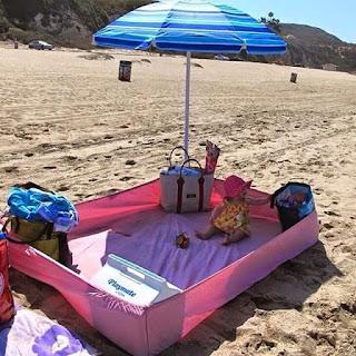 Ideias bebê na praia