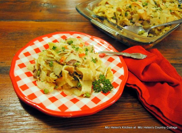 The Tuna Casserole at Miz Helen's Country Cottage