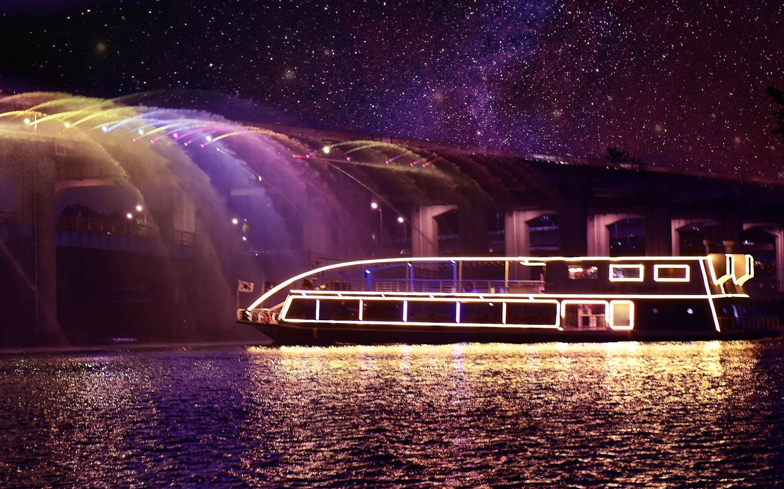 Han River Cruise (Day & Night) Ticket